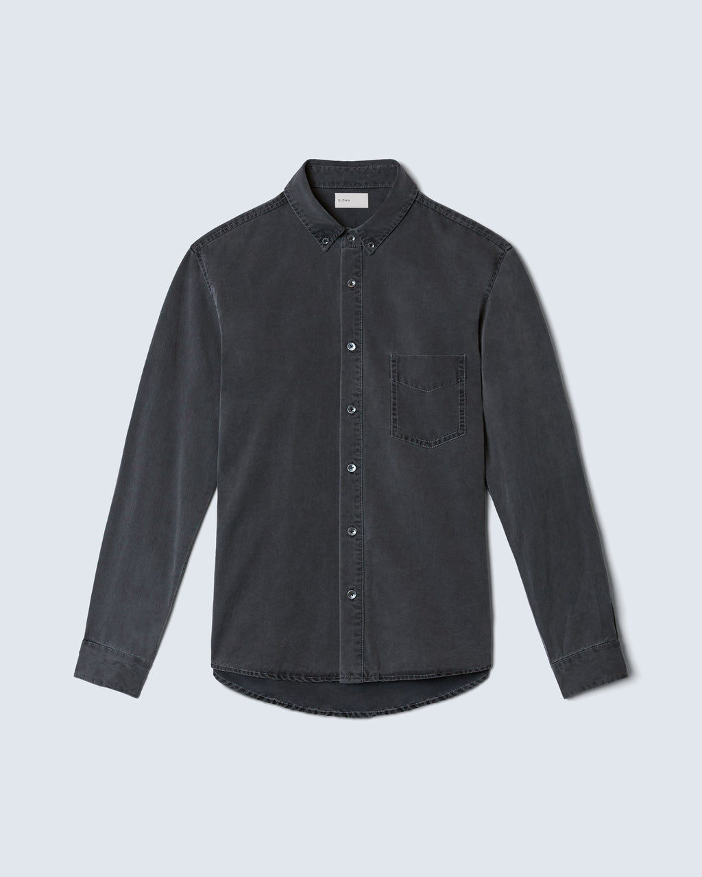 The Nathan Shirt In Vintage Black