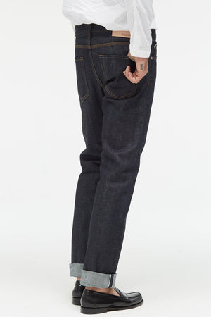 The Reed Jean in Raw Selvedge