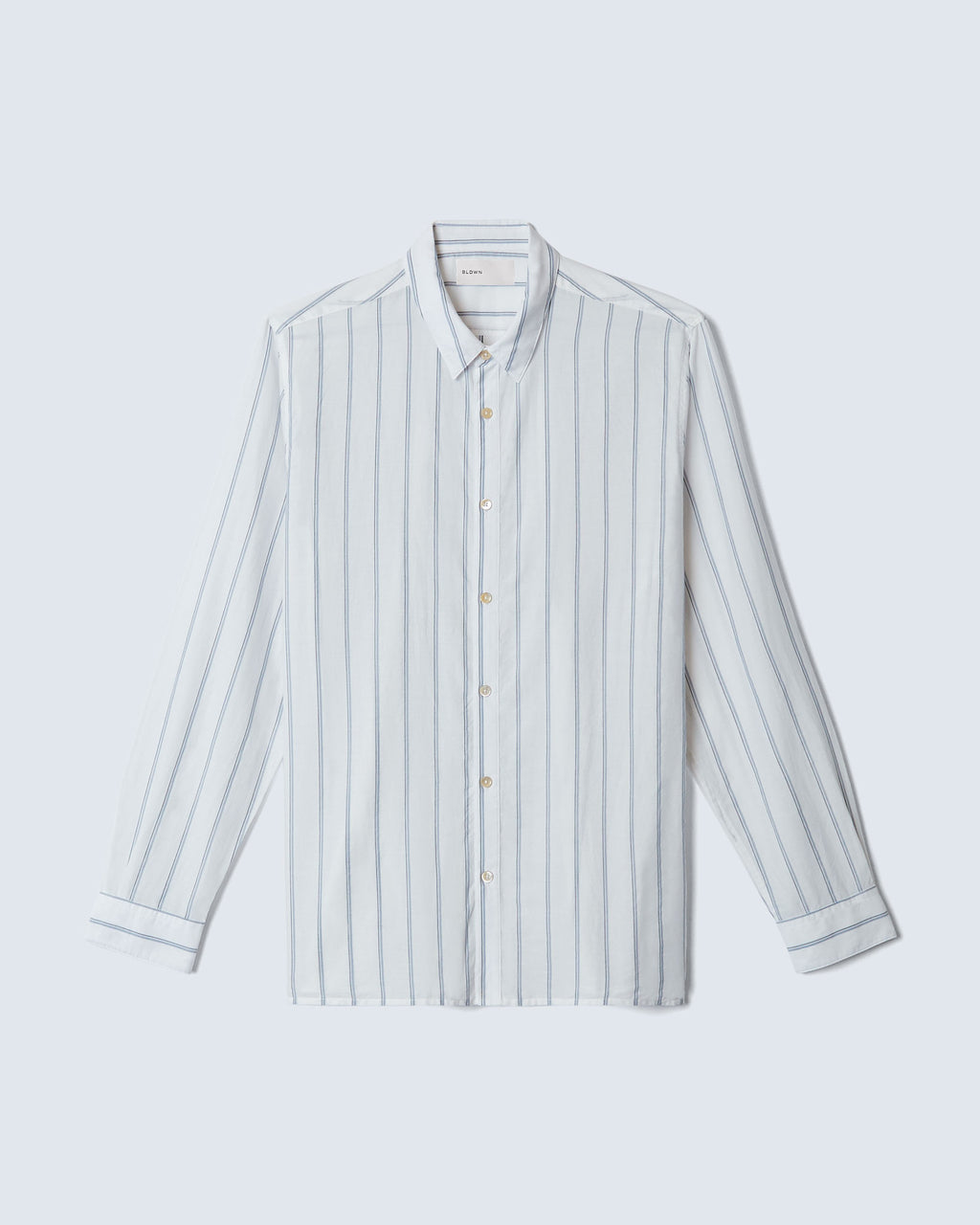 The William in White/Navy Stripe