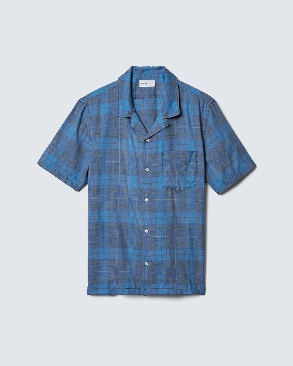 The Cabus Shirt in Teal
