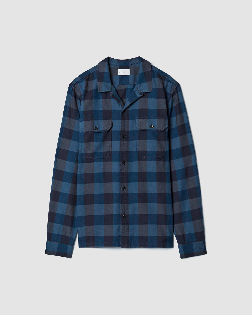The Guetes Shirt in Navy Combo