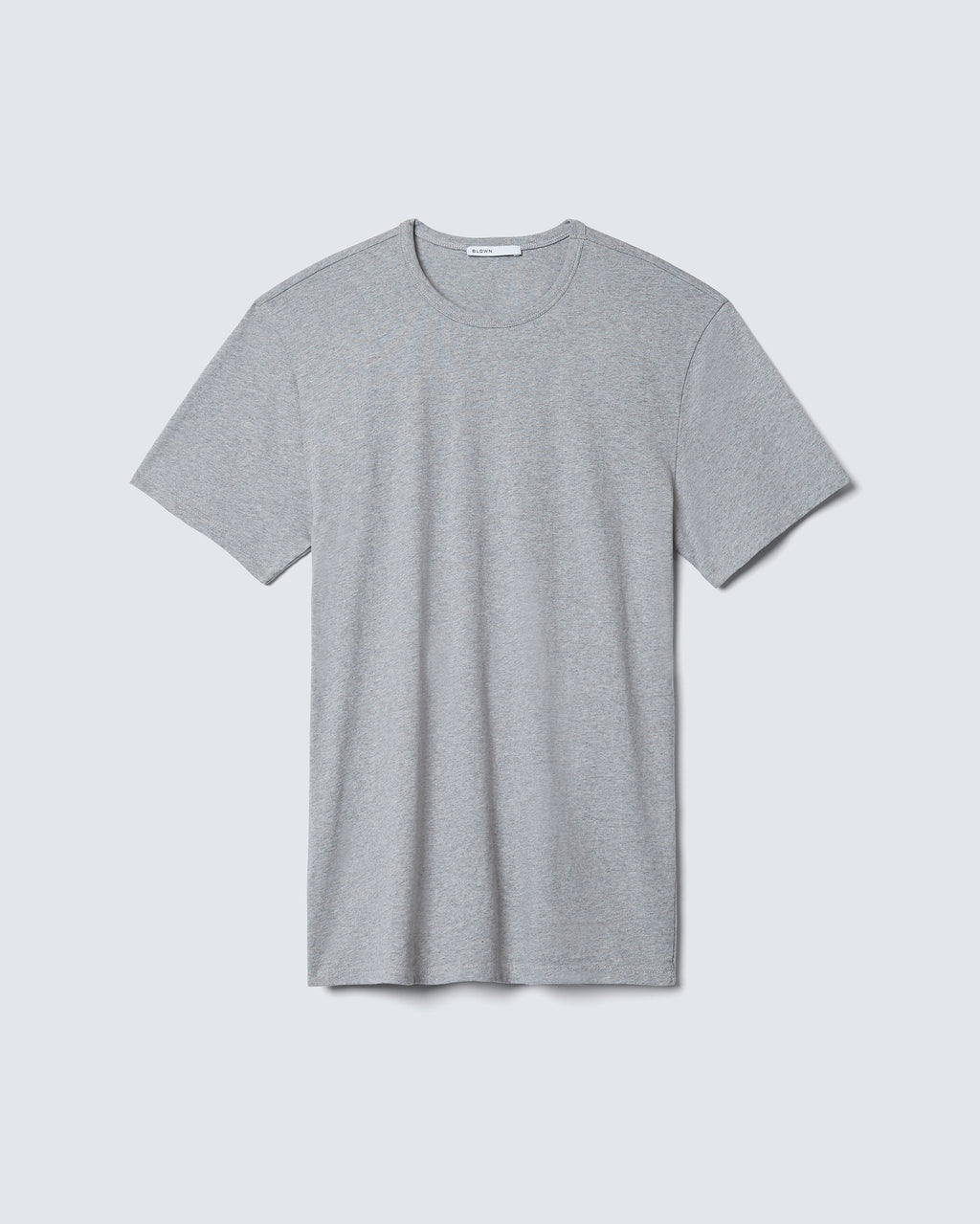 The Modern Slim Tee in Heather Grey