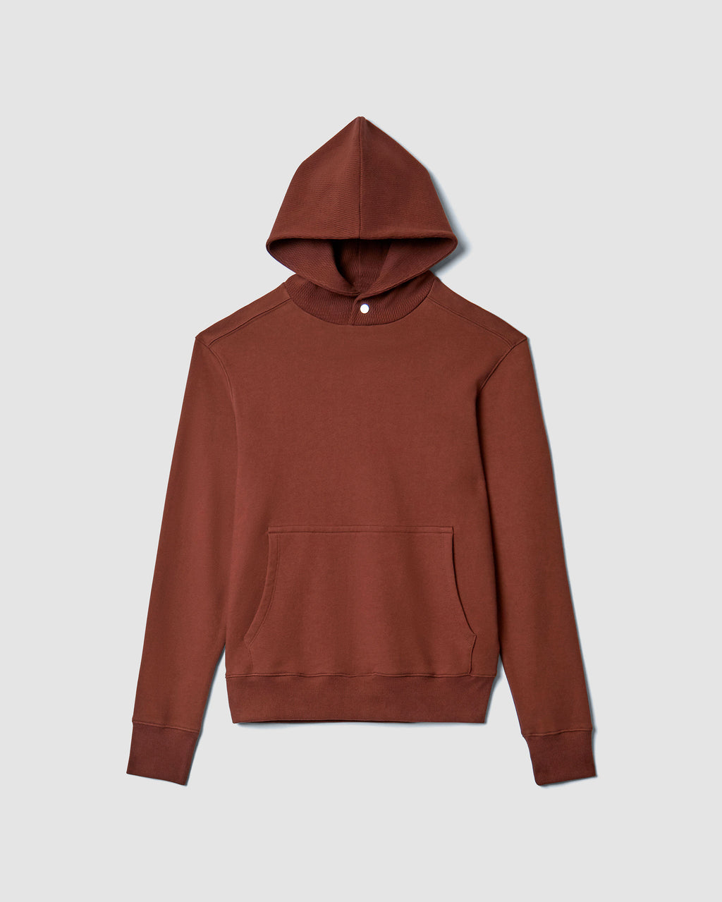 The Cale Hoodie in Brick