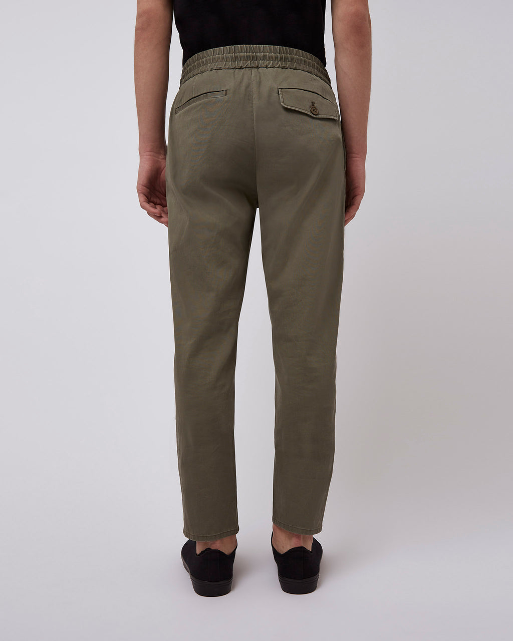 The Damon Pant in Olive Drab