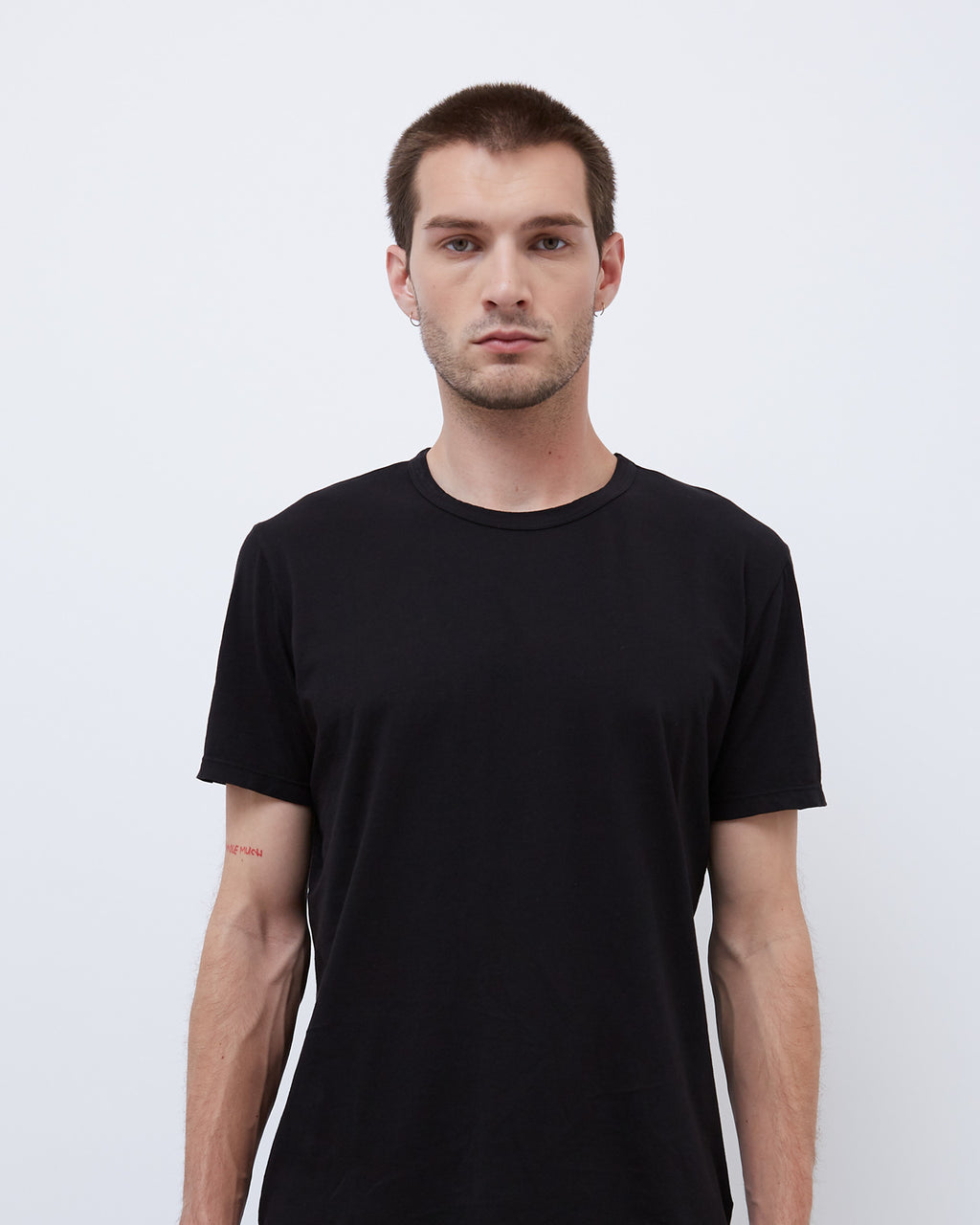 The Crew Neck Tee in Black