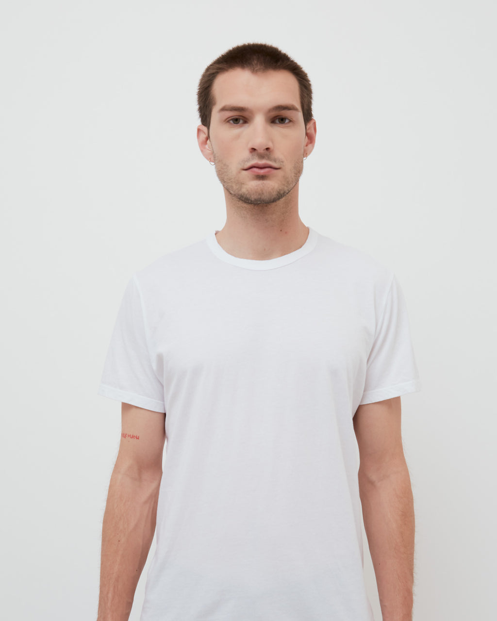 The Crew Neck Tee in White