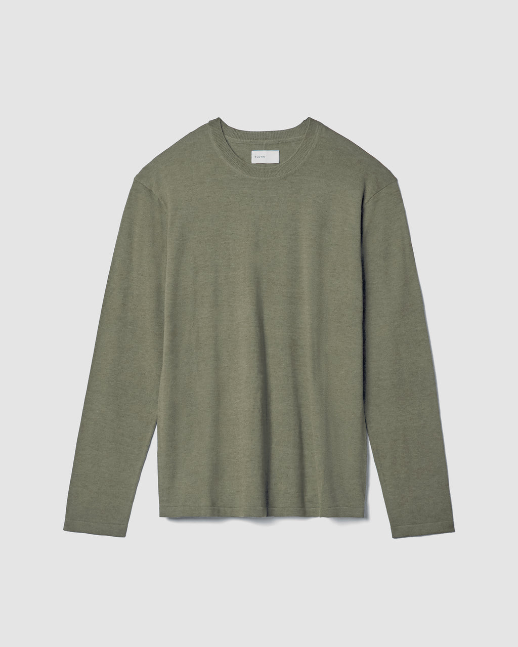 The Inez Sweater in Light Olive
