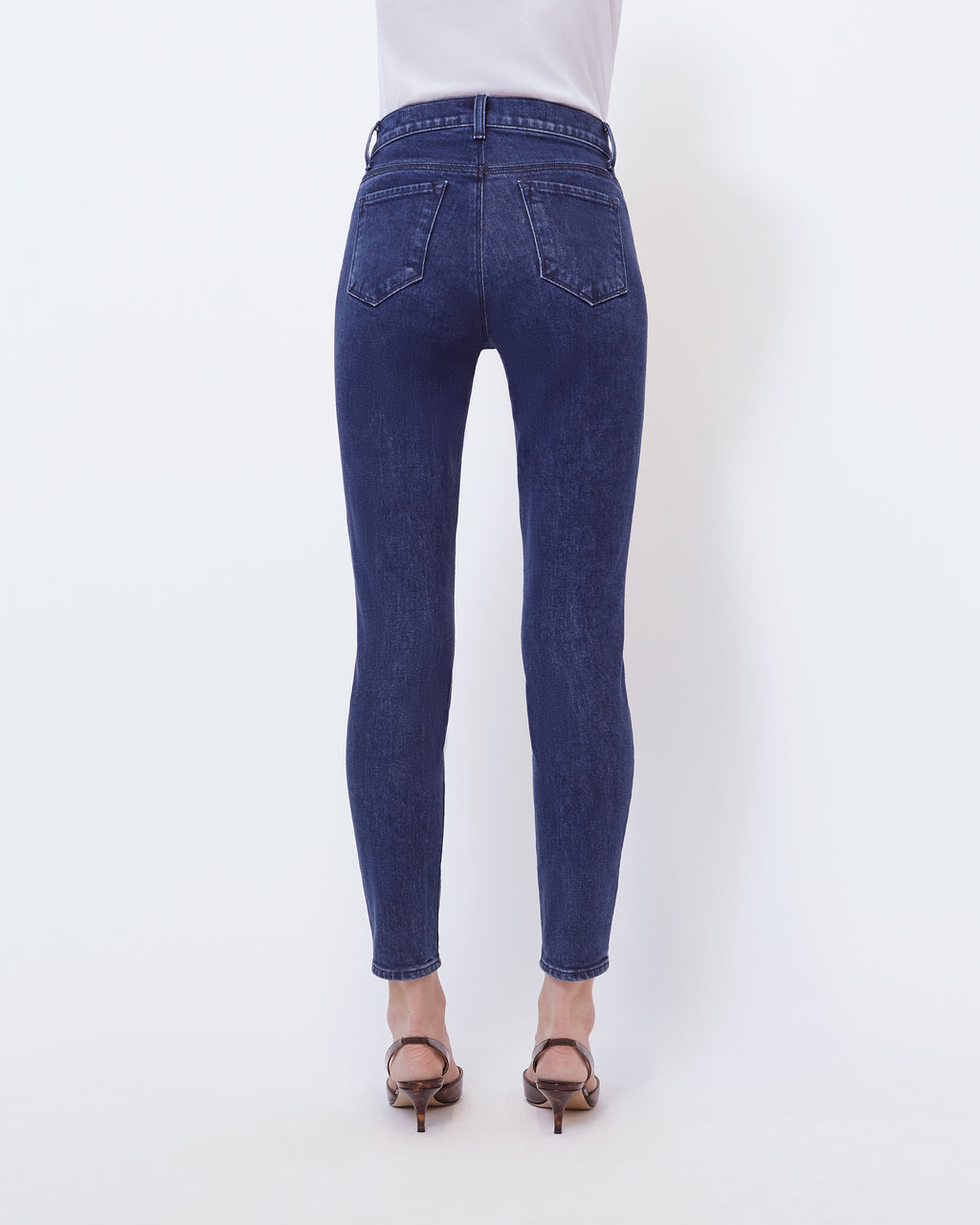 The Ankle Skinny Jean In Aura