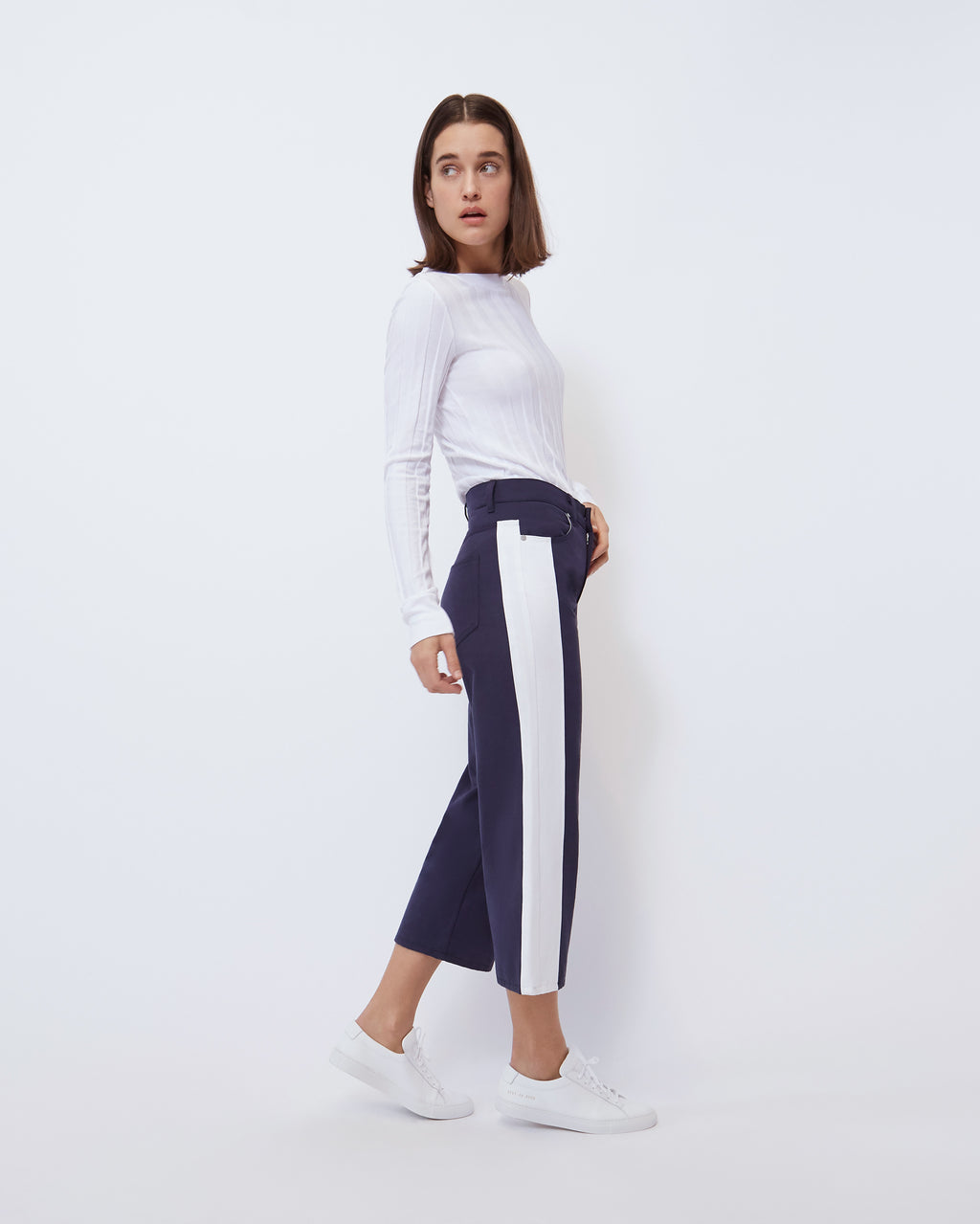 The Cropped Wide Leg in Nocturnal