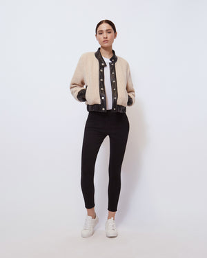 The Blitz Jacket in Soft Beige