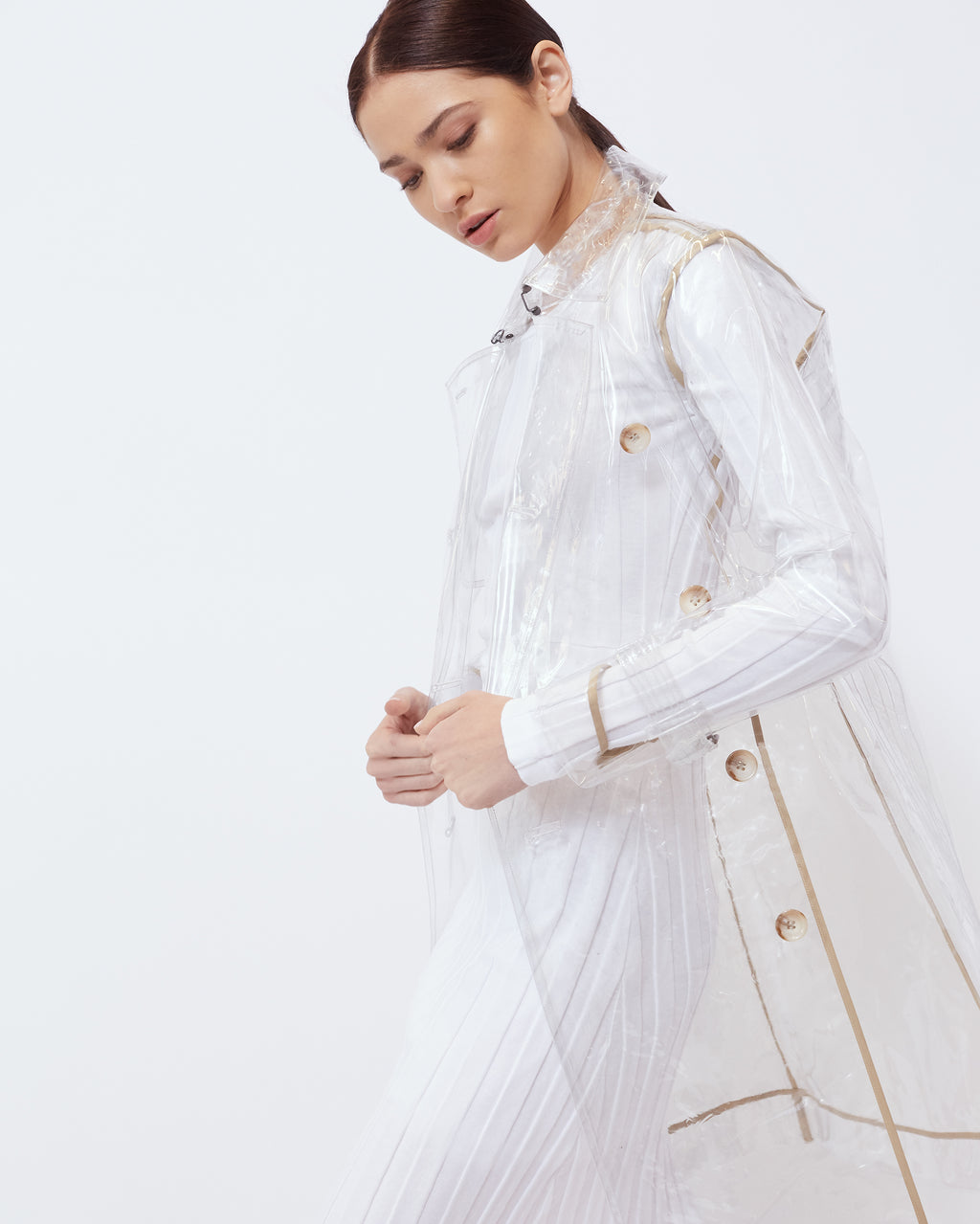The Sterling Trench in Clear