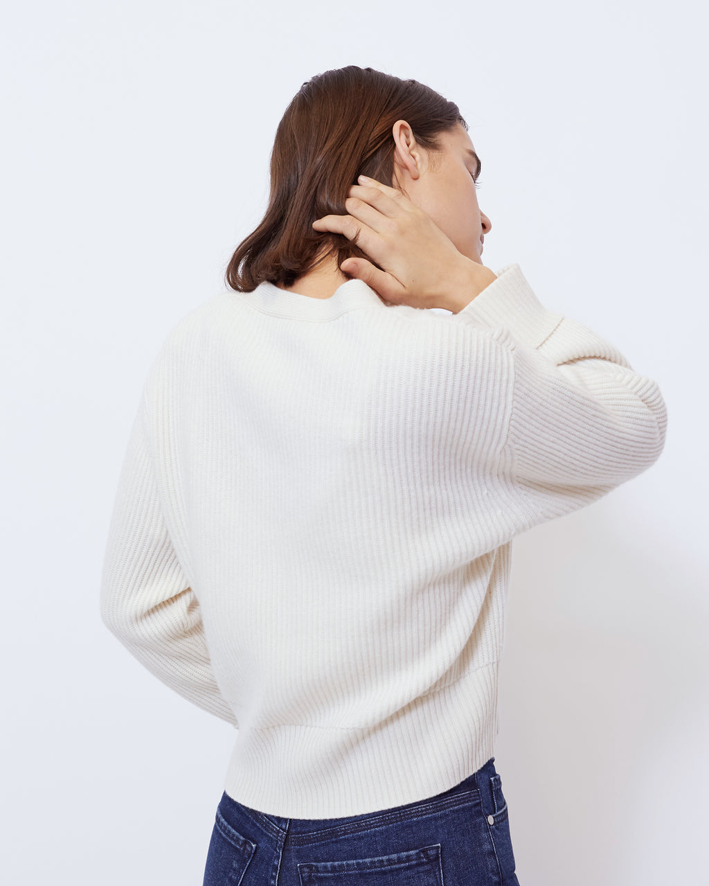The Sparrow Sweater in Ivory