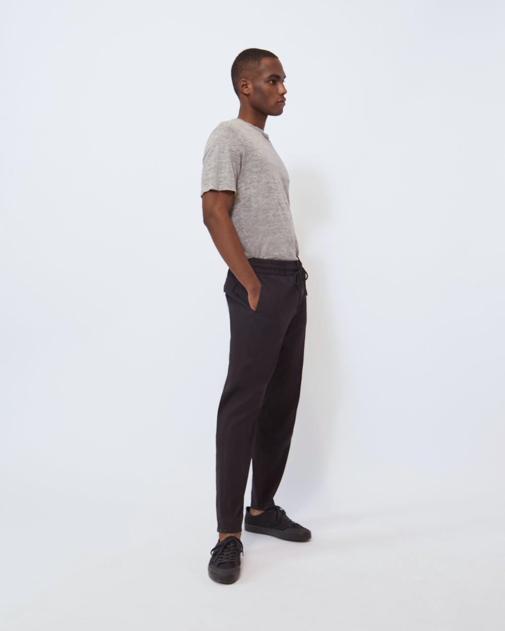 The Damon Pant in Black