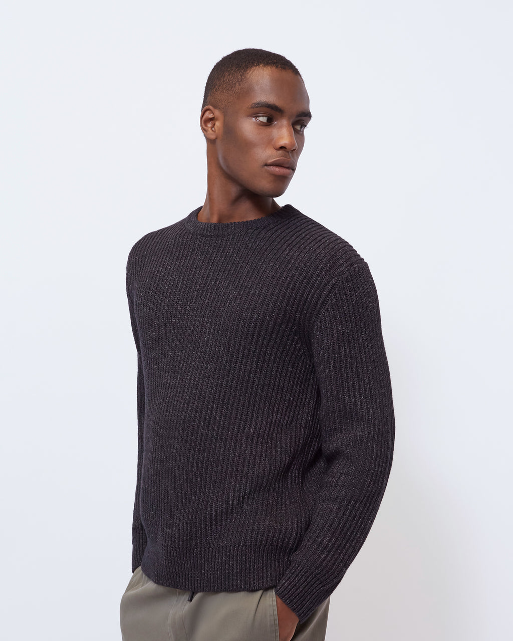 The Roux Sweater in Black