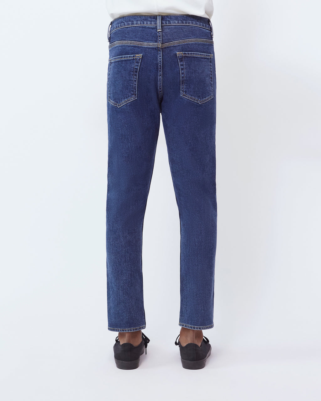 The Modern Taper Jean in Blue Indigo
