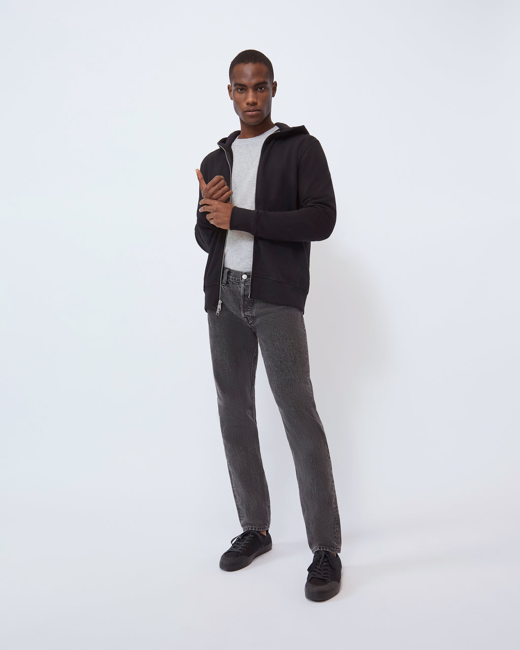 The Modern Slim Jean in Vintage Black