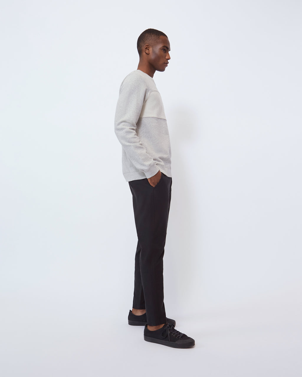 The Rhys Pant in Black