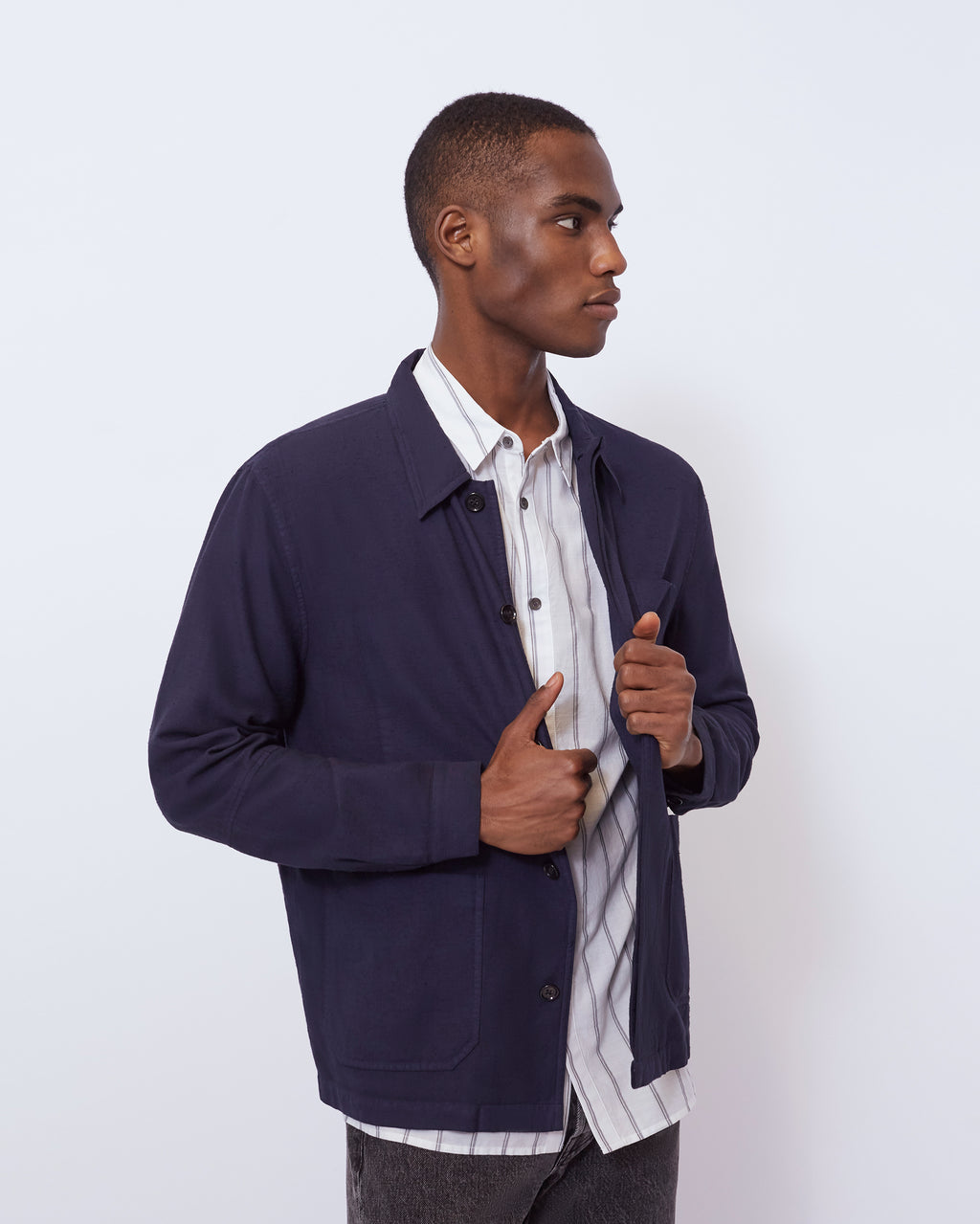 The Bowens Jacket in Navy
