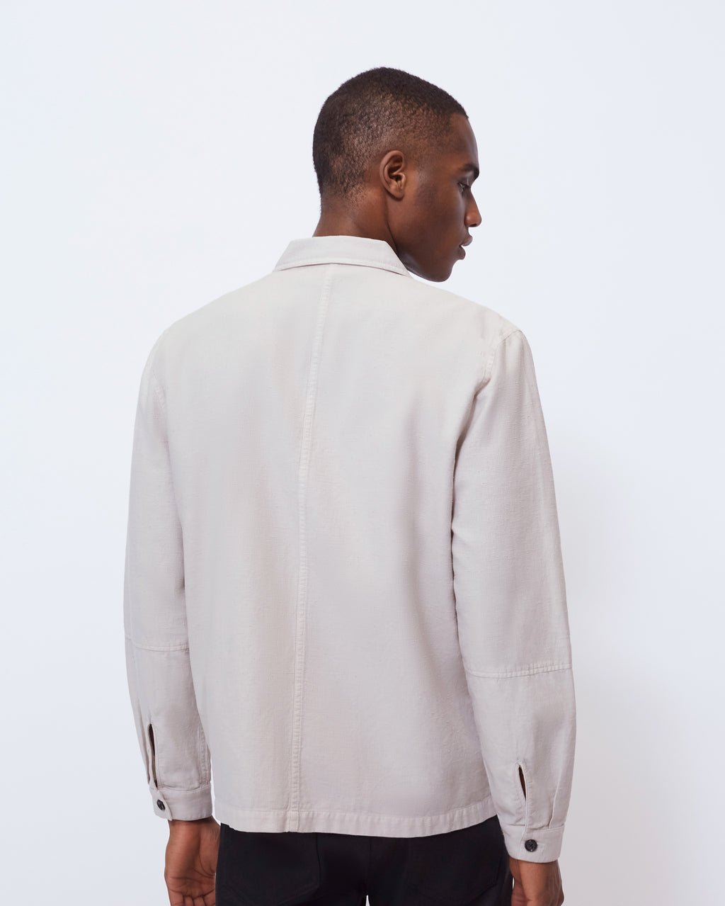 The Bowens Jacket in Stone