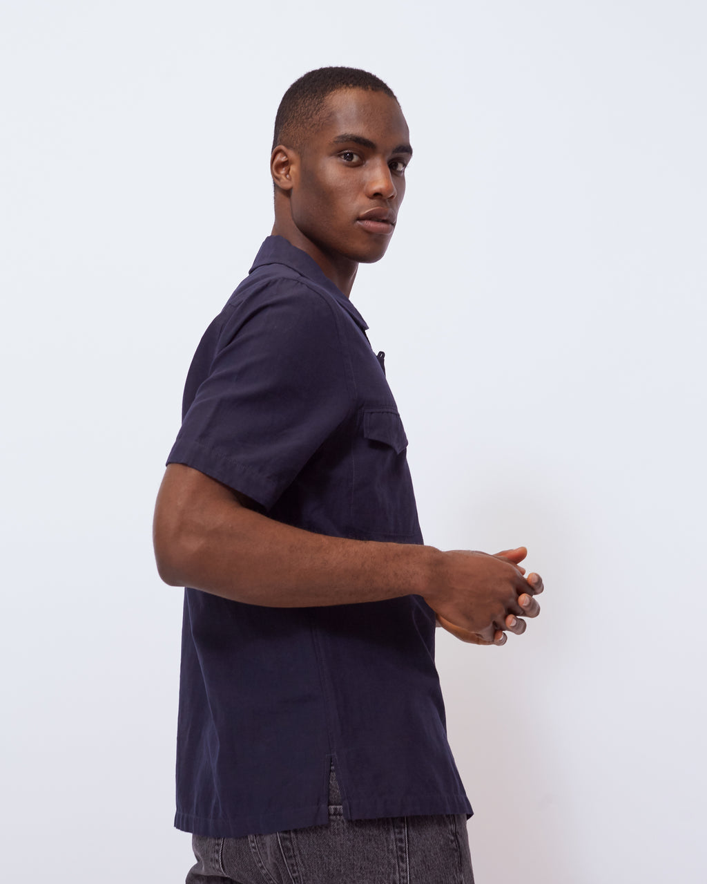 The Cokas Shirt in Midnight