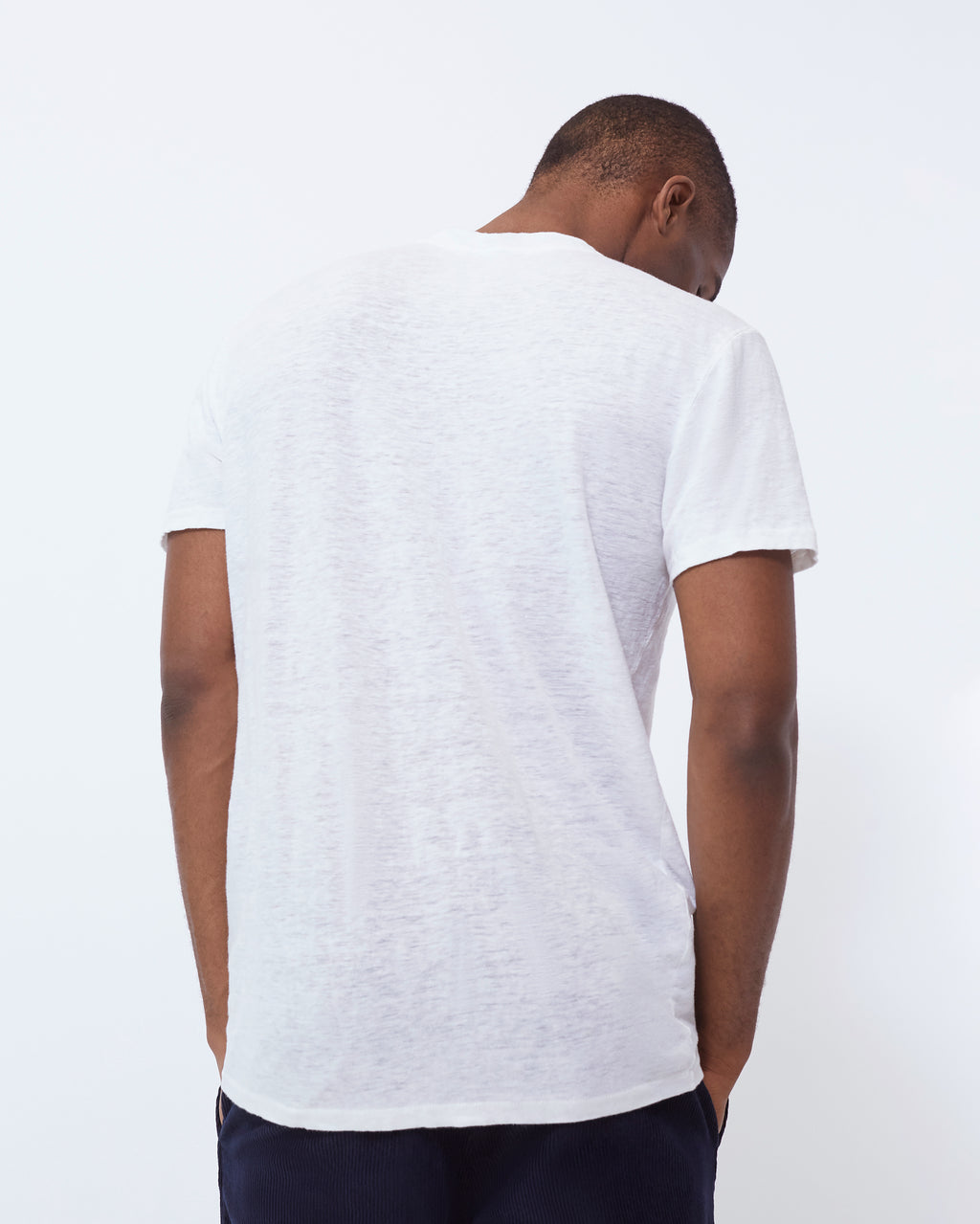 The Nolen Tee in Off White