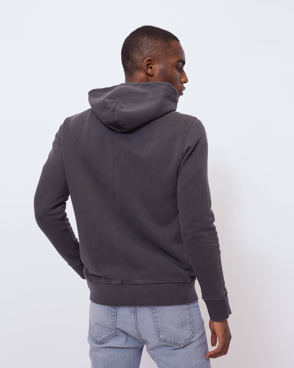 The Asher Hoodie in Vintage Black