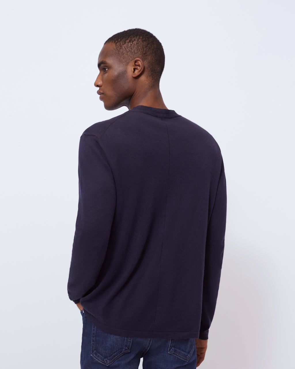 The Inez Sweater in Midnight