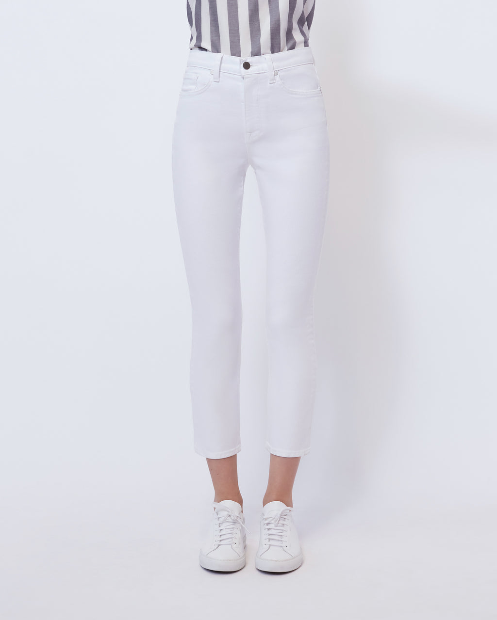 The Vintage Straight Jean in Pure White