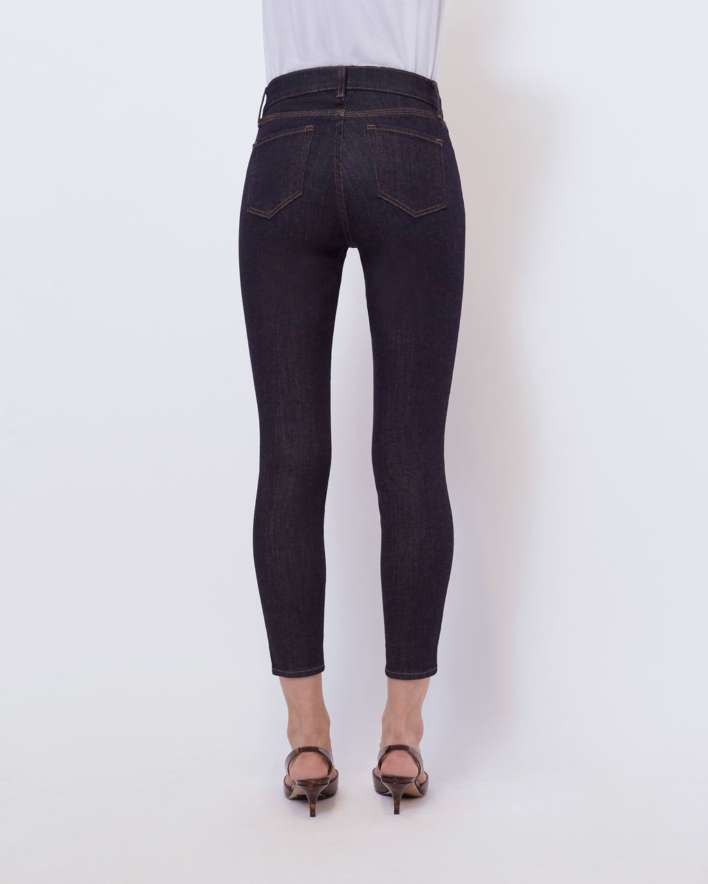 The Ankle Skinny Jean In Abyss