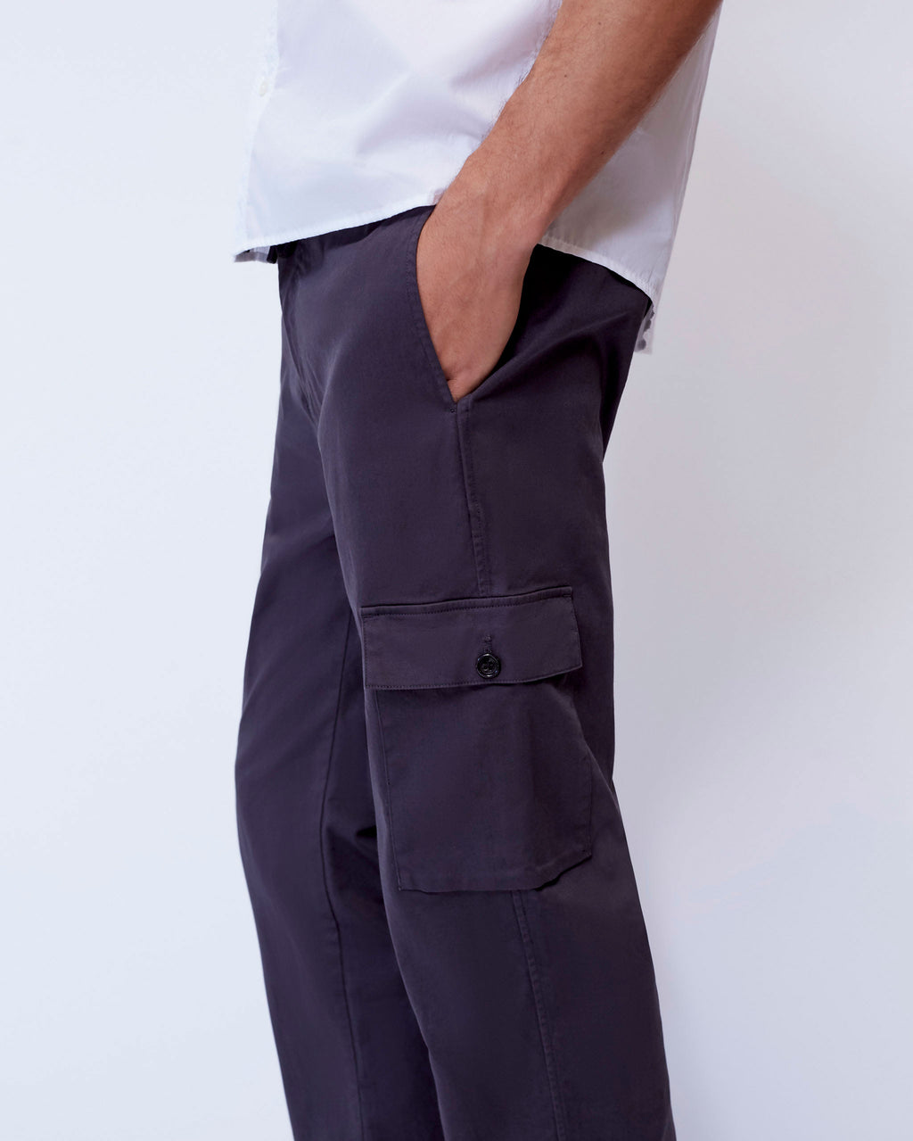 The Sandkey Pant in Washed Black