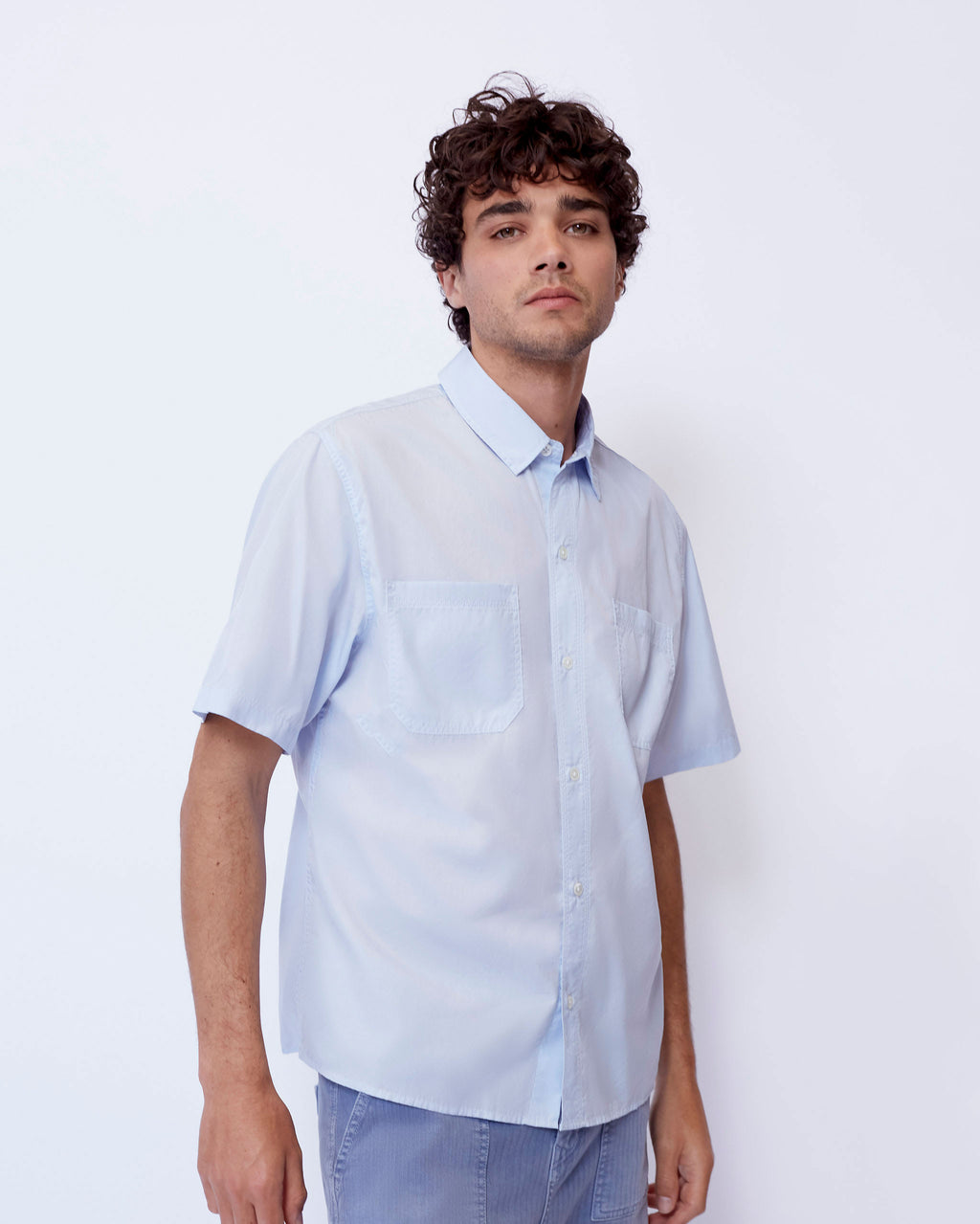 The Beltree Shirt in Light Blue