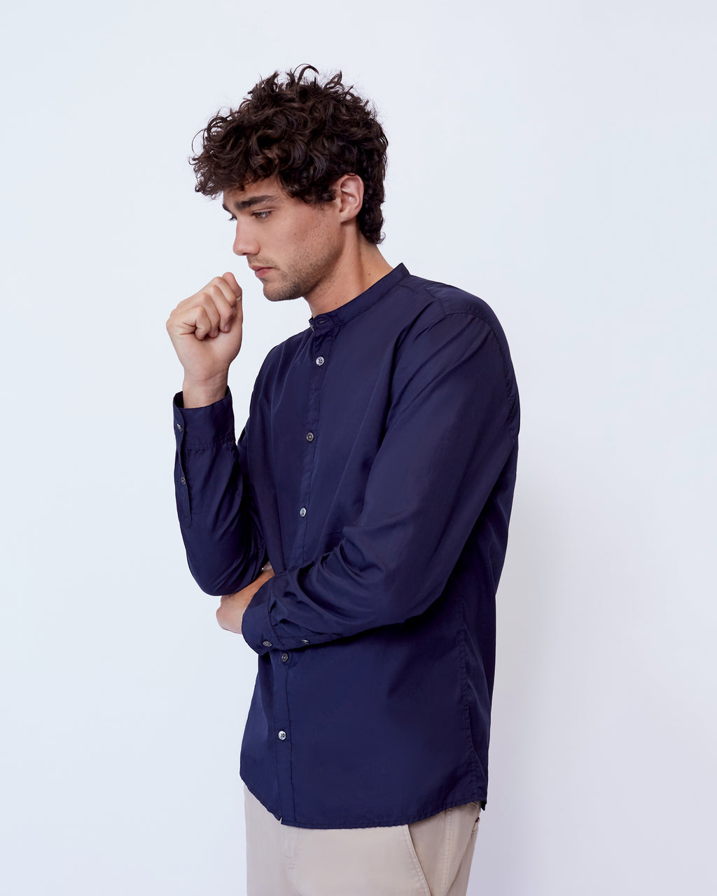 The Arbor Shirt in Navy