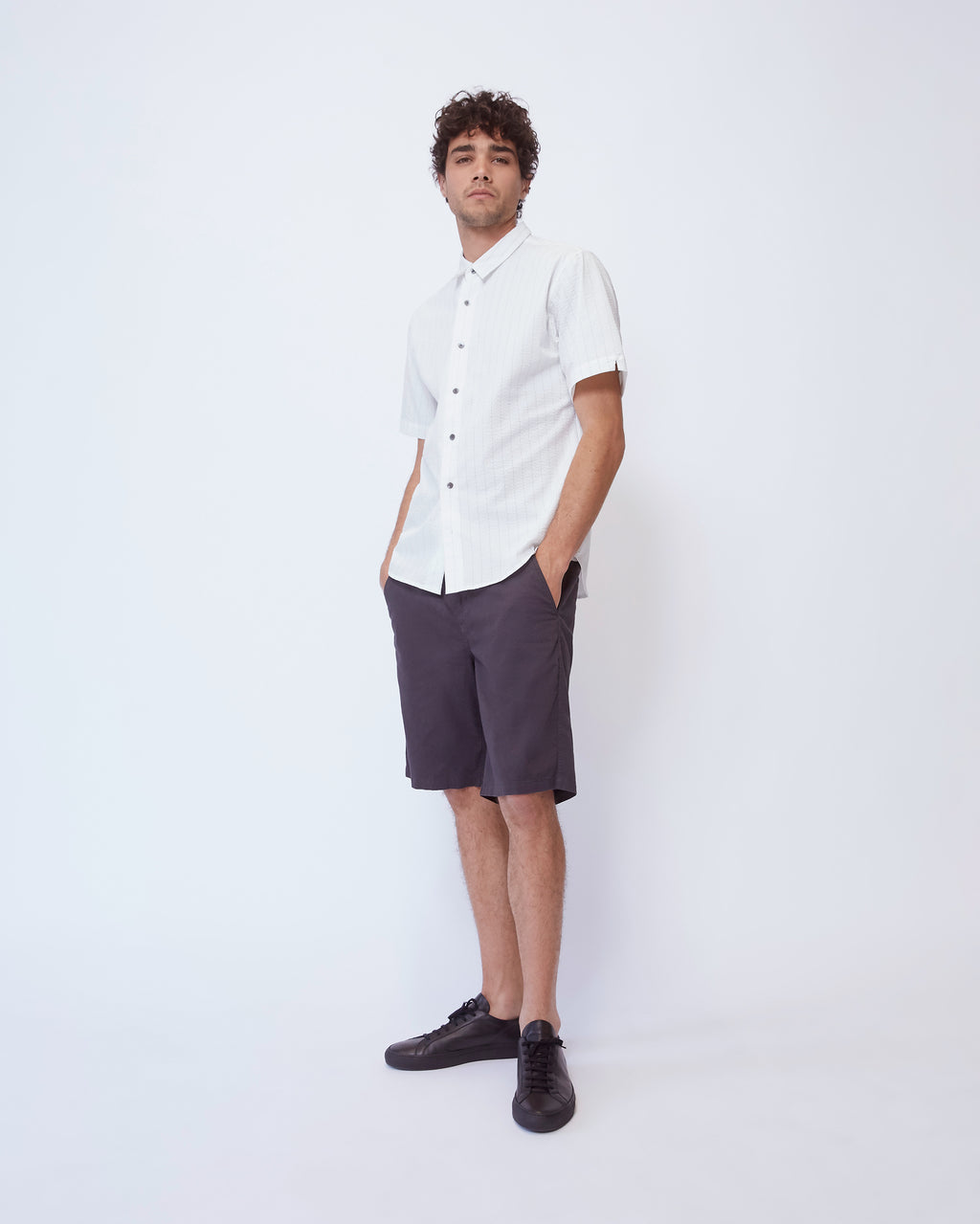 The Arellano Shirt in White