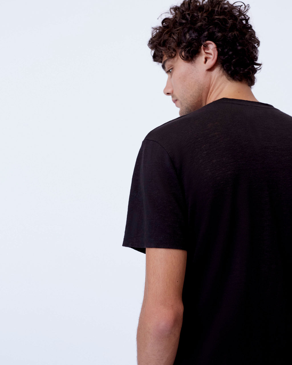 The Nolen Tee in Black