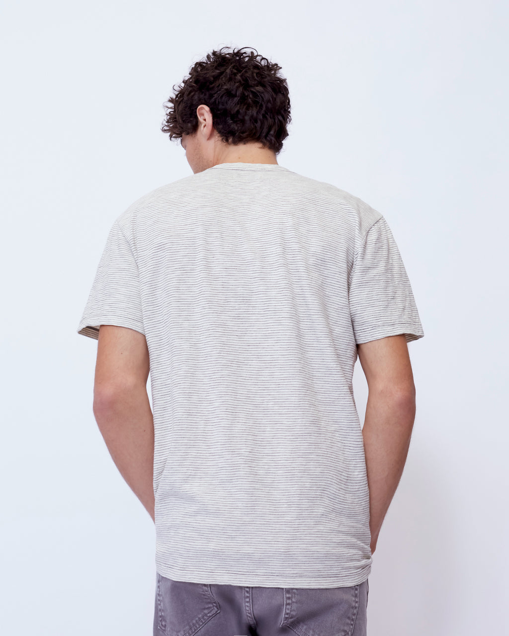 The Palma Tee in White