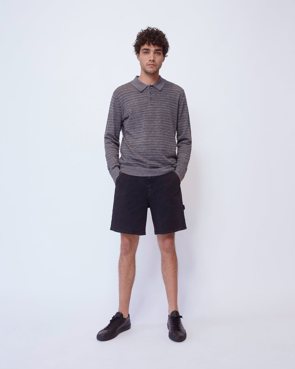 The Sarasota Sweater in Charcoal