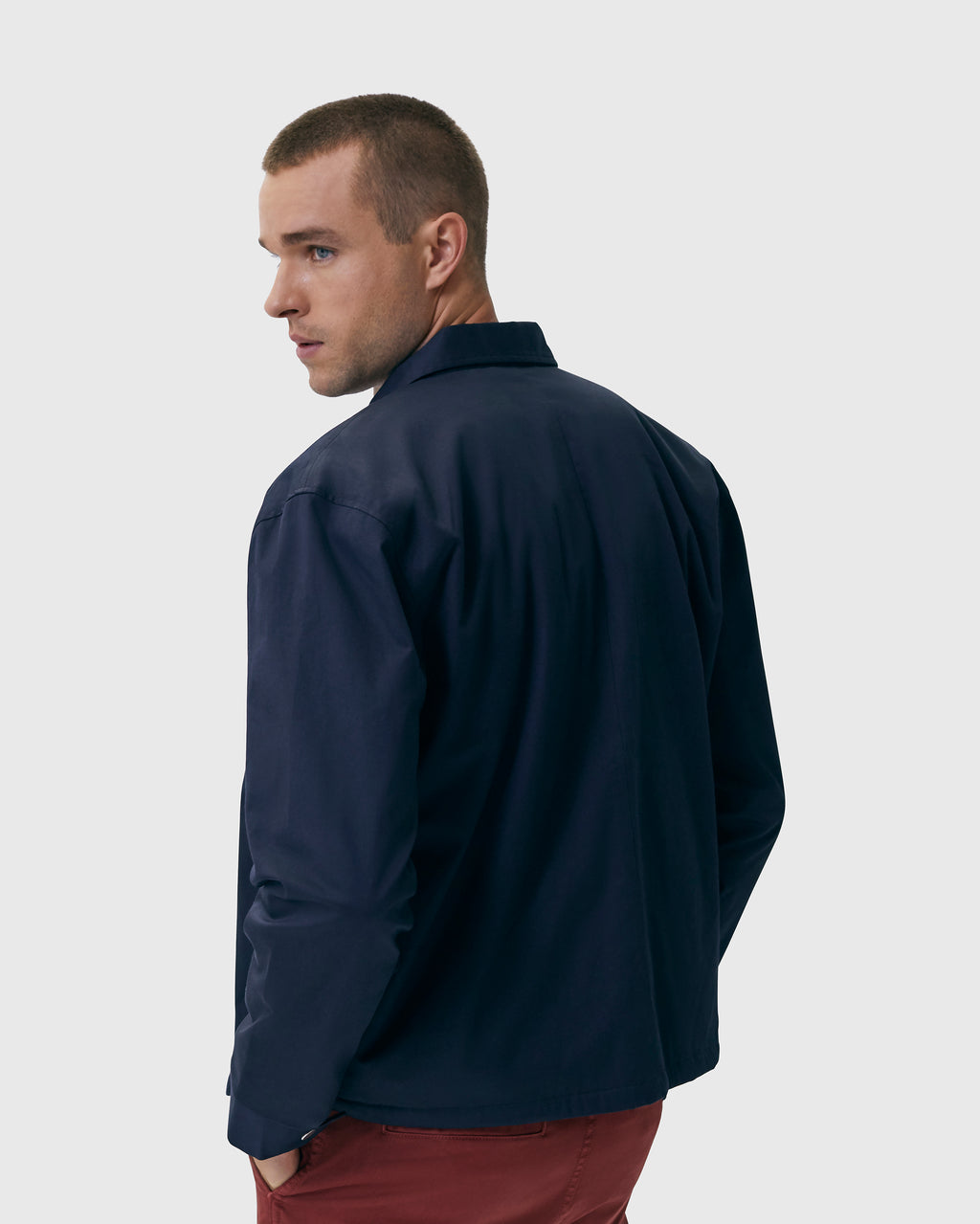 The Judd Jacket in Navy