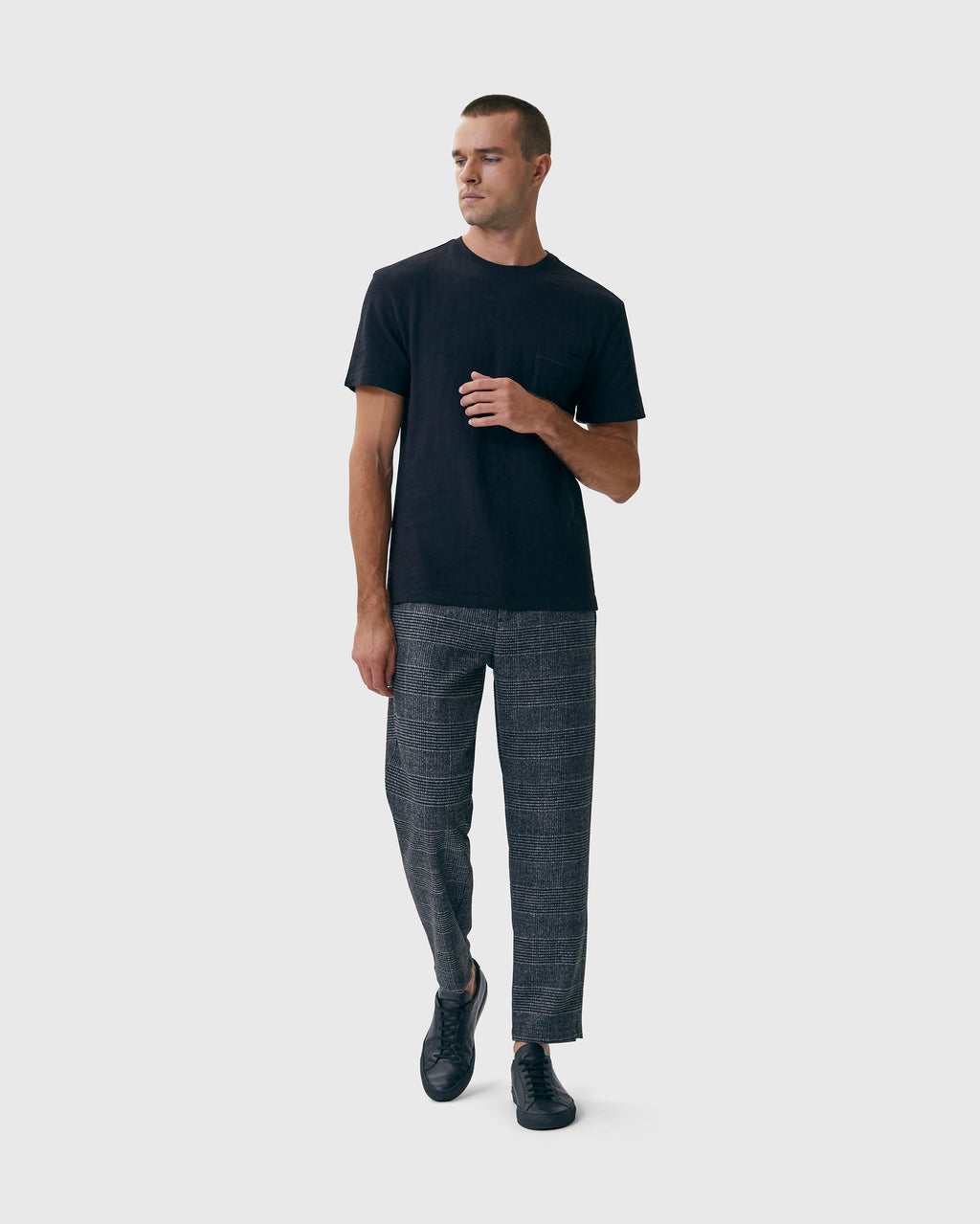 The Coffield Tee in Black