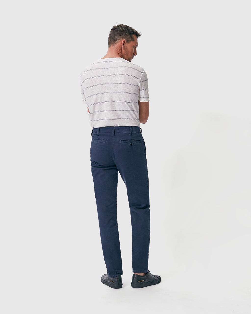 The Modern Slim Trouser in Midnight