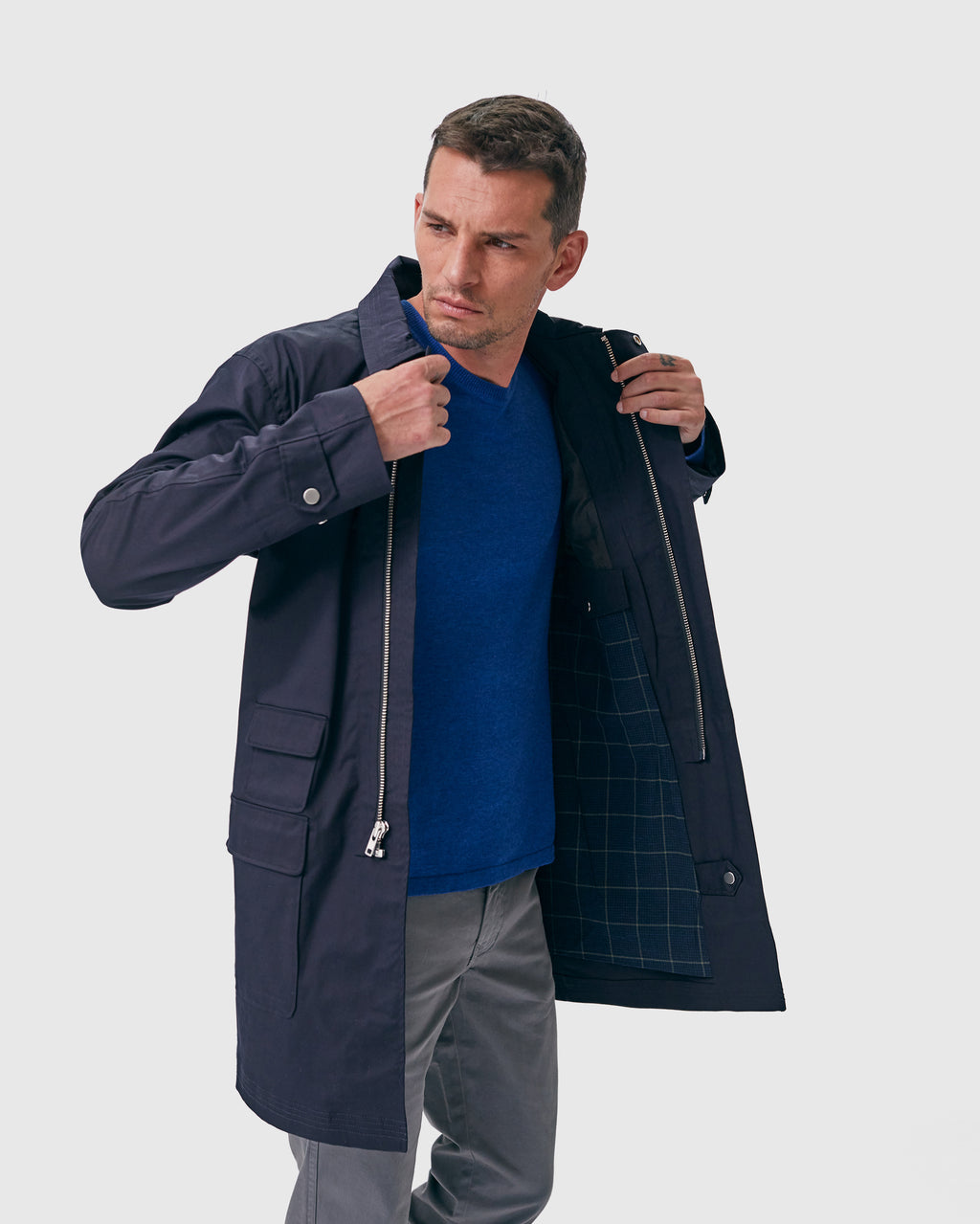 The Decker Jacket in Navy