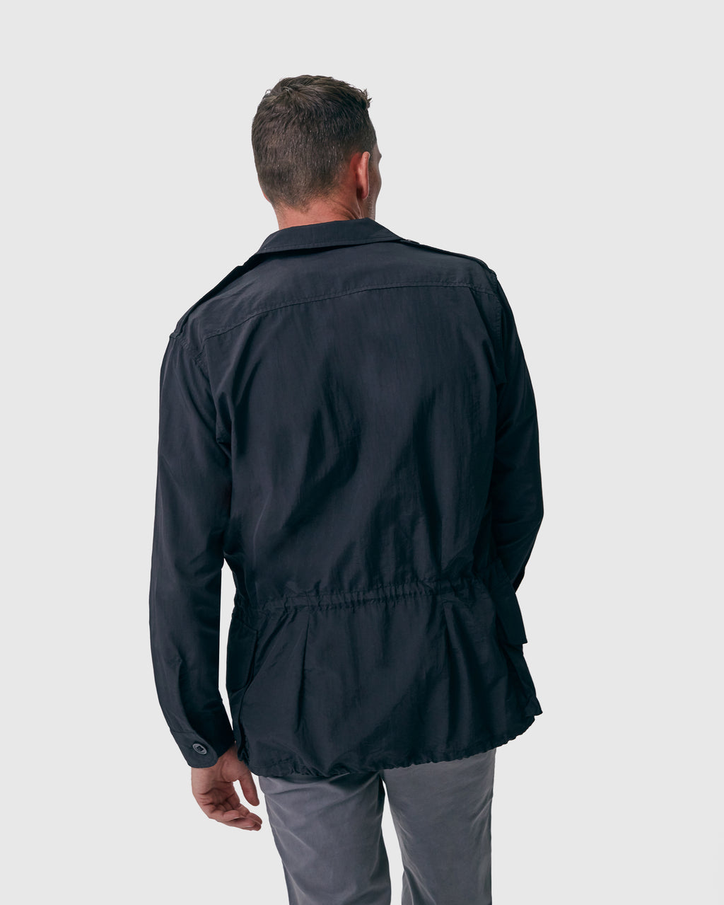 The Shore Jacket in Black