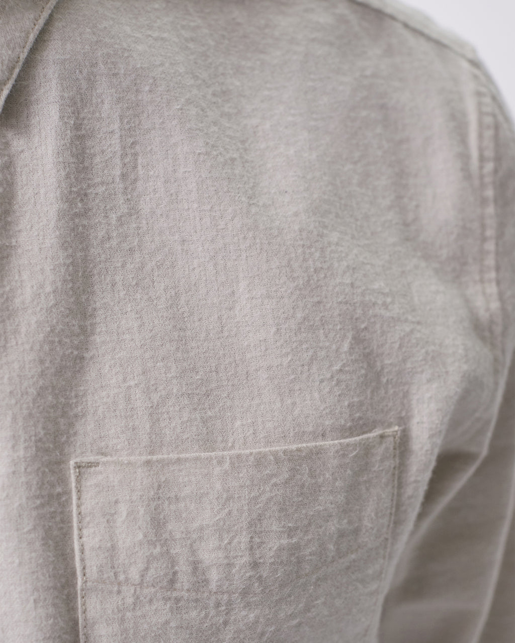 The Hansen Shirt in Stone