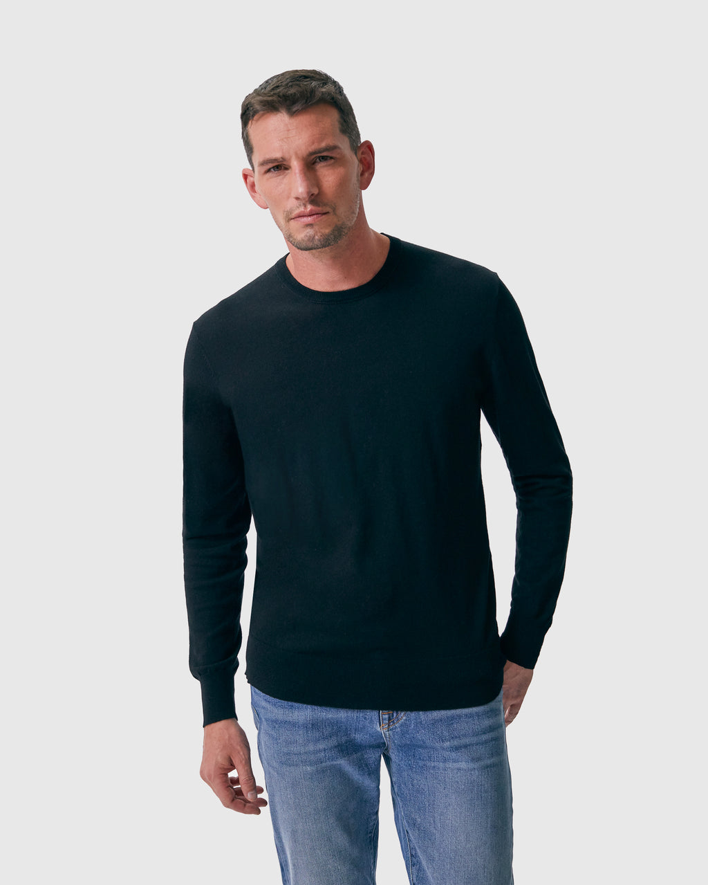 The Lesh Sweater in Black