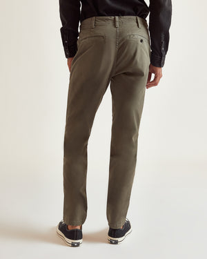 The Modern Slim Trouser in Dusty Olive