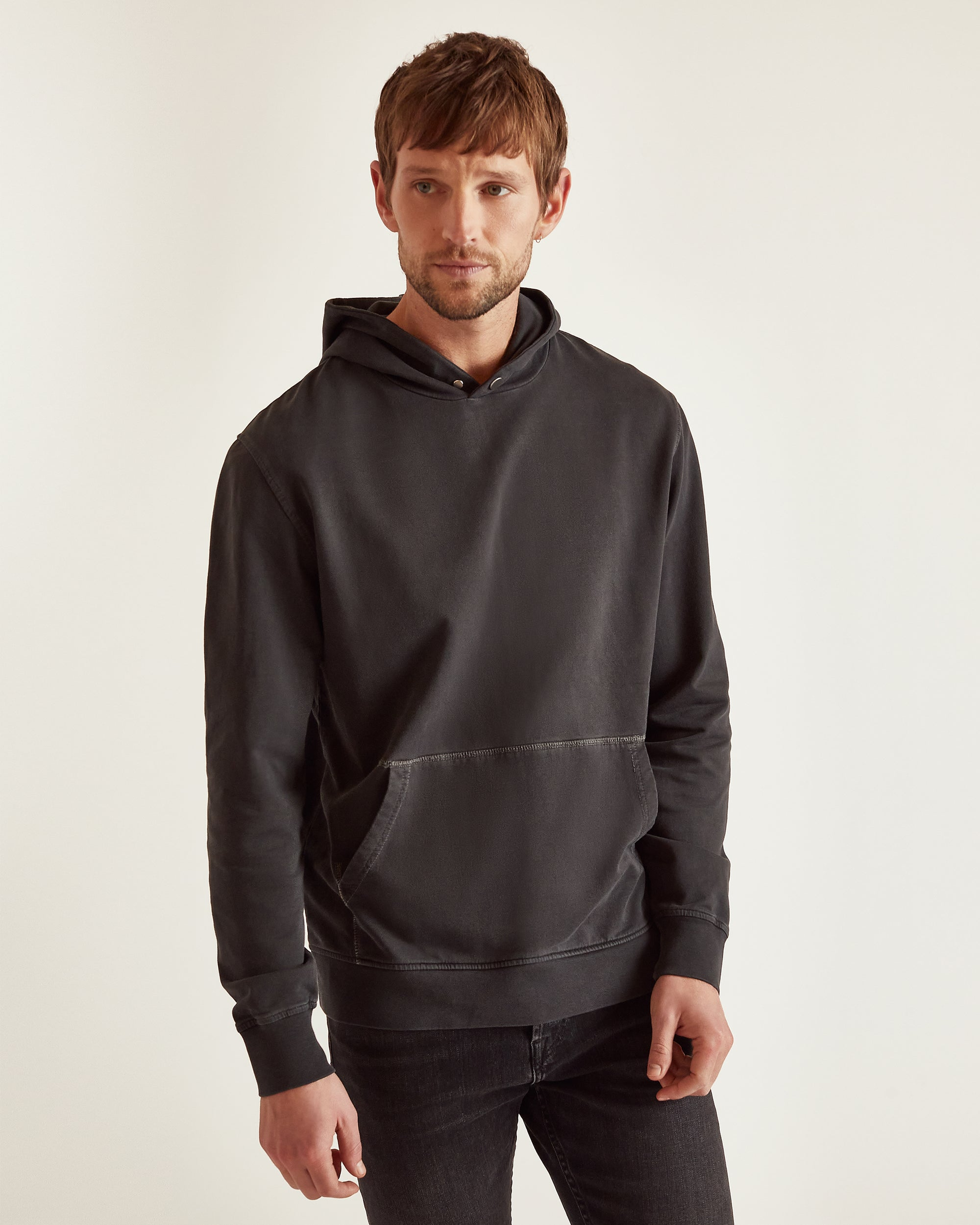 The Carson Hoodie in Black