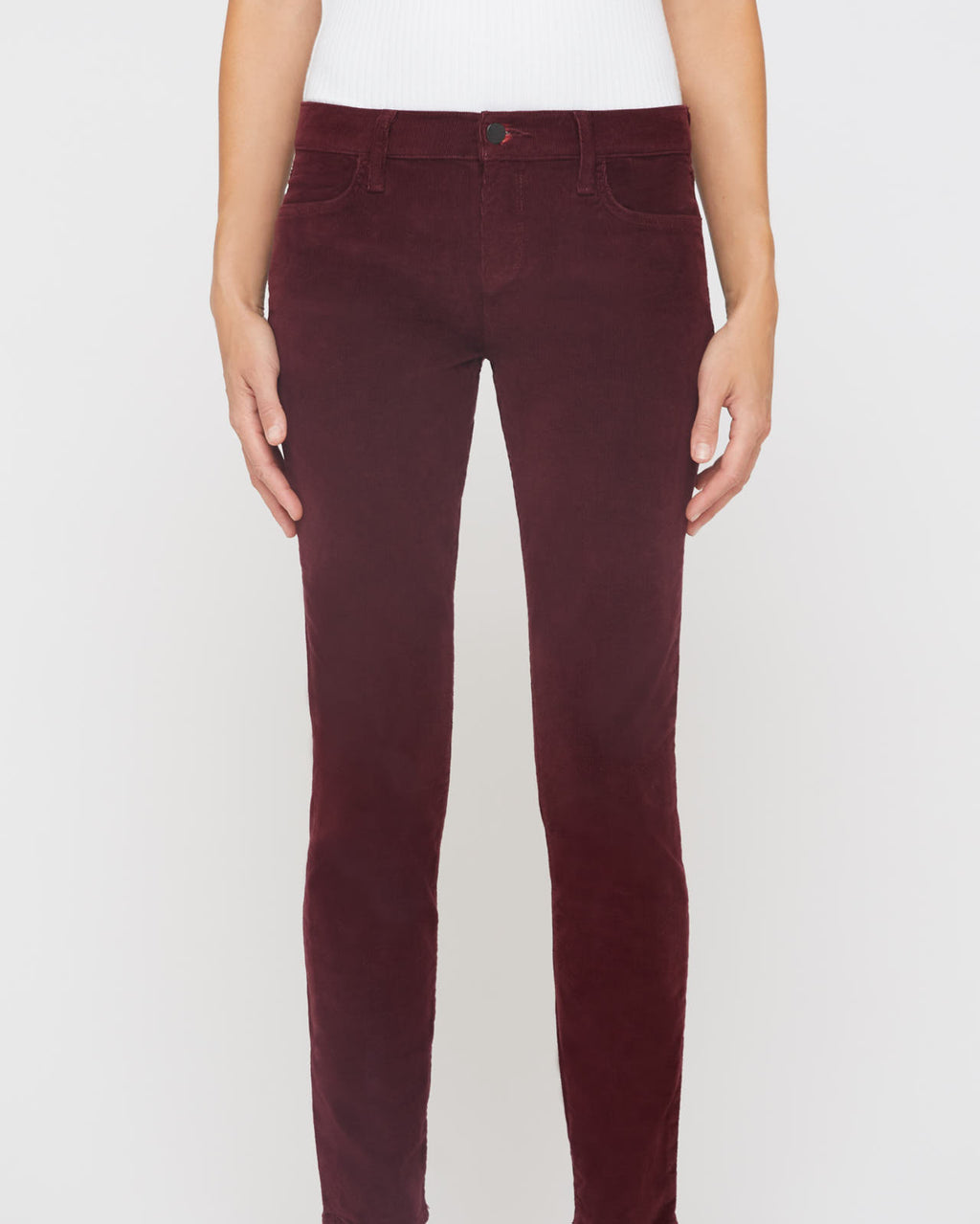 The Sophia Jean in Mulberry Corduroy