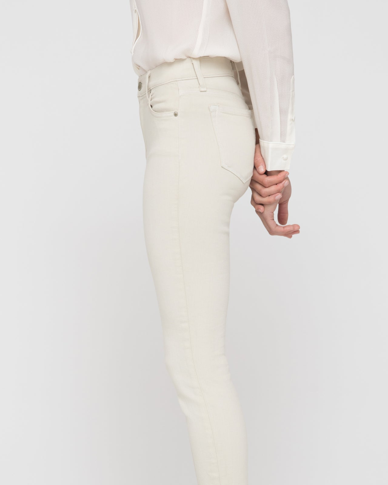 The Karlie Jean in Almond