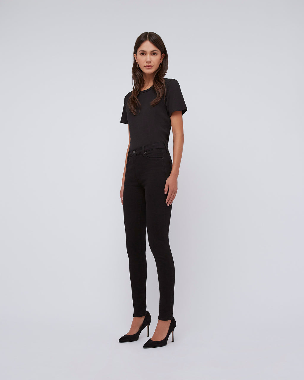 The Ultra High Rise Skinny In Black