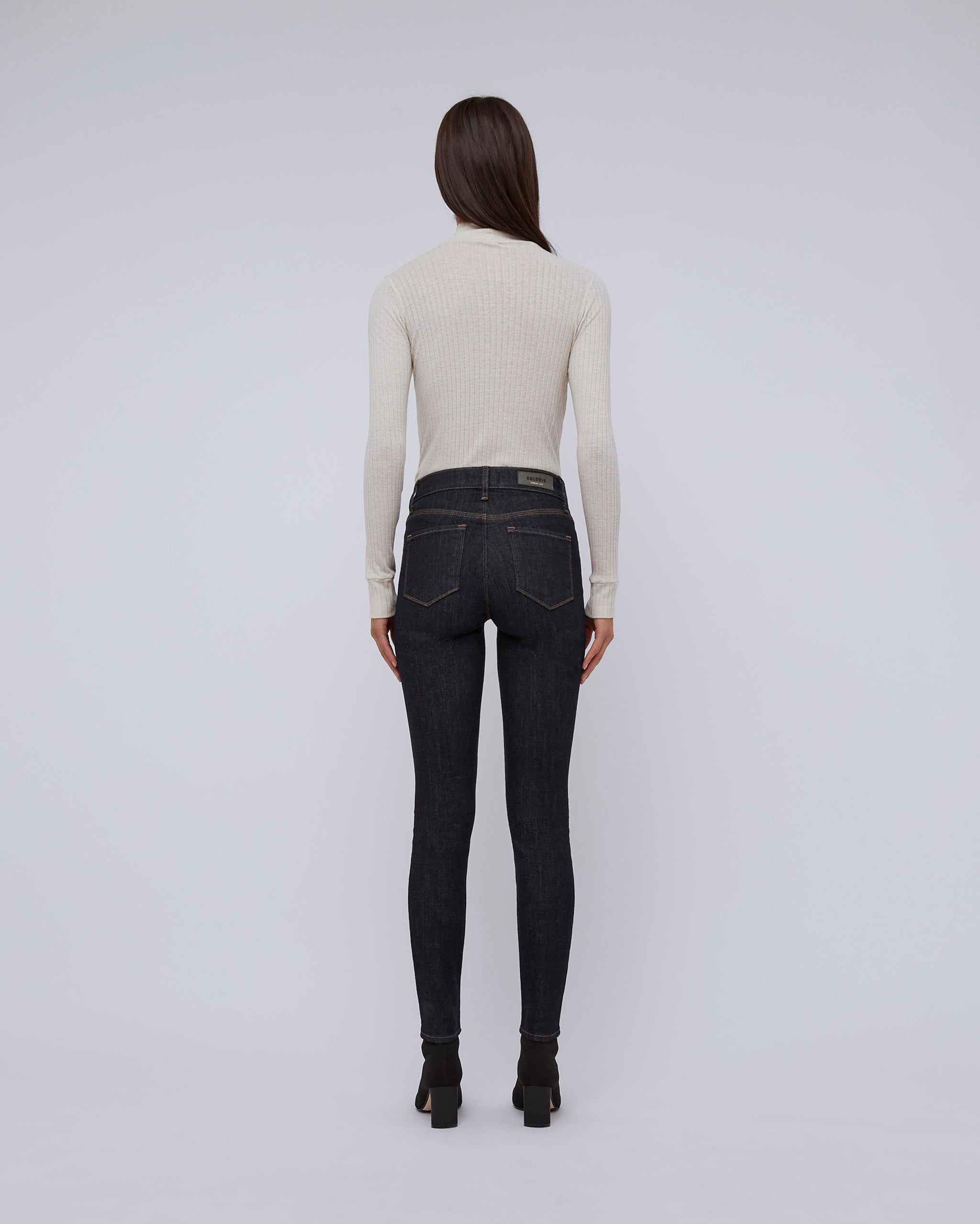 The Ultra High Rise Skinny In Rinse