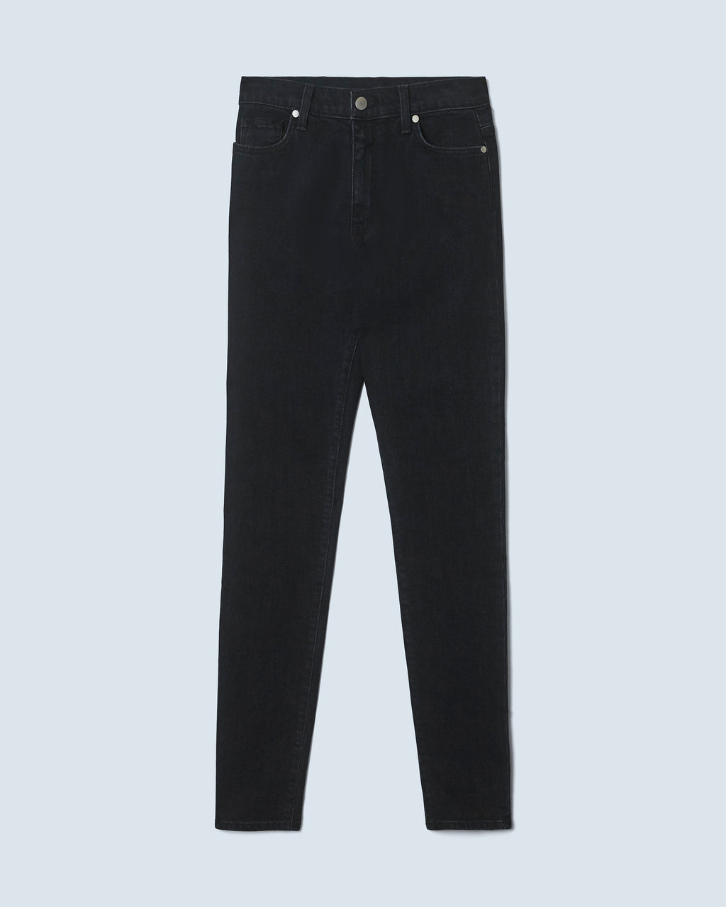 The Ultra High Rise Skinny Jean in Carbon Black